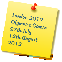 London 2012 Olympics Games 27th July - 12th August 2012